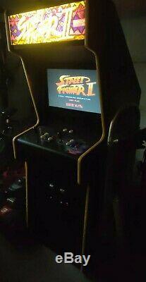 Street Fighters II Arcade Original 1991 Machine Updated with LCD Screen 2