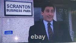 THE OFFICE screen used prop Scranton Business Park sign from Dunder Mifflin