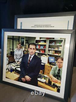THE OFFICE screen used prop/wardrobe lot Michael Scott Steve Carell hero grail
