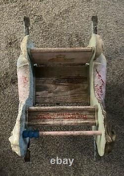 The Conjuring 2 Screen Used Prop Amityville Rocking Horse Signed x4! RARE