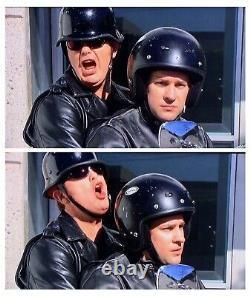 The Office Dwight Schrute Rainn Wilson Screen Worn Used Motorcycle Jacket Prop