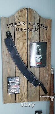 The Punisher, Thomas Jane's Original Screen Used Paper Cutter Weapon