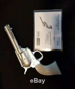 Tombstone DOC HOLLIDAY (Val KILMER)STUNT PISTOL with COA HERO PROPS screen used