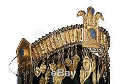 Troy Screen used worn Trojan Handmaiden Head Dress COA