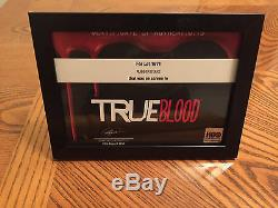 True Blood (HBO) Screen Used Prop Rubber Vampire Stake (with COA)