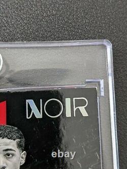 Tyrese Halliburton Noir Silver Screen Debut rookie card auto 05/99