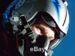 Val Kilmer SCREEN USED Top Gun helmet and flight suit prop / costume