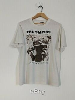 Vintage 1985 The Smiths Meat is Murder Original T-shirt Large Screen Stars
