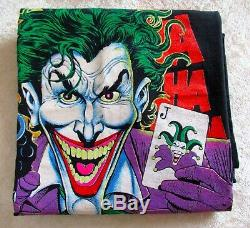 Vintage 1989 Batman Ha Ha Joker Original Screen Stars Tee Shirt DC Comics Large
