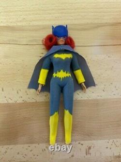 Vintage Mego Batgirl Figure Original Silk Screen DC Comics 1973 Batman Hero 8 in