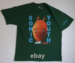 Vintage Sonic Youth Dirty T-shirt XL 1992 Brockum Screen Stars Original Kelley