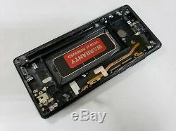 WITH FRAME ORIGINAL Samsung Galaxy Note 8 N950 LCD Digitizer Frame Screen BLACK