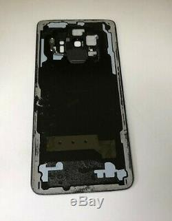 WithFRAME ORIGINAL Samsung Galaxy S9 G960 LCD Screen Digitizer BLACK WithBACK COVER