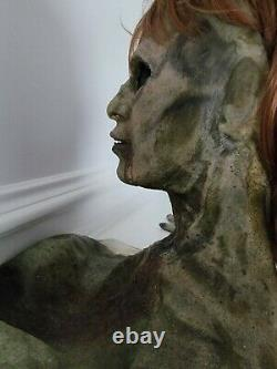 Zack Snyder's Army of the Dead Screen Used Full Head Mask with Hands